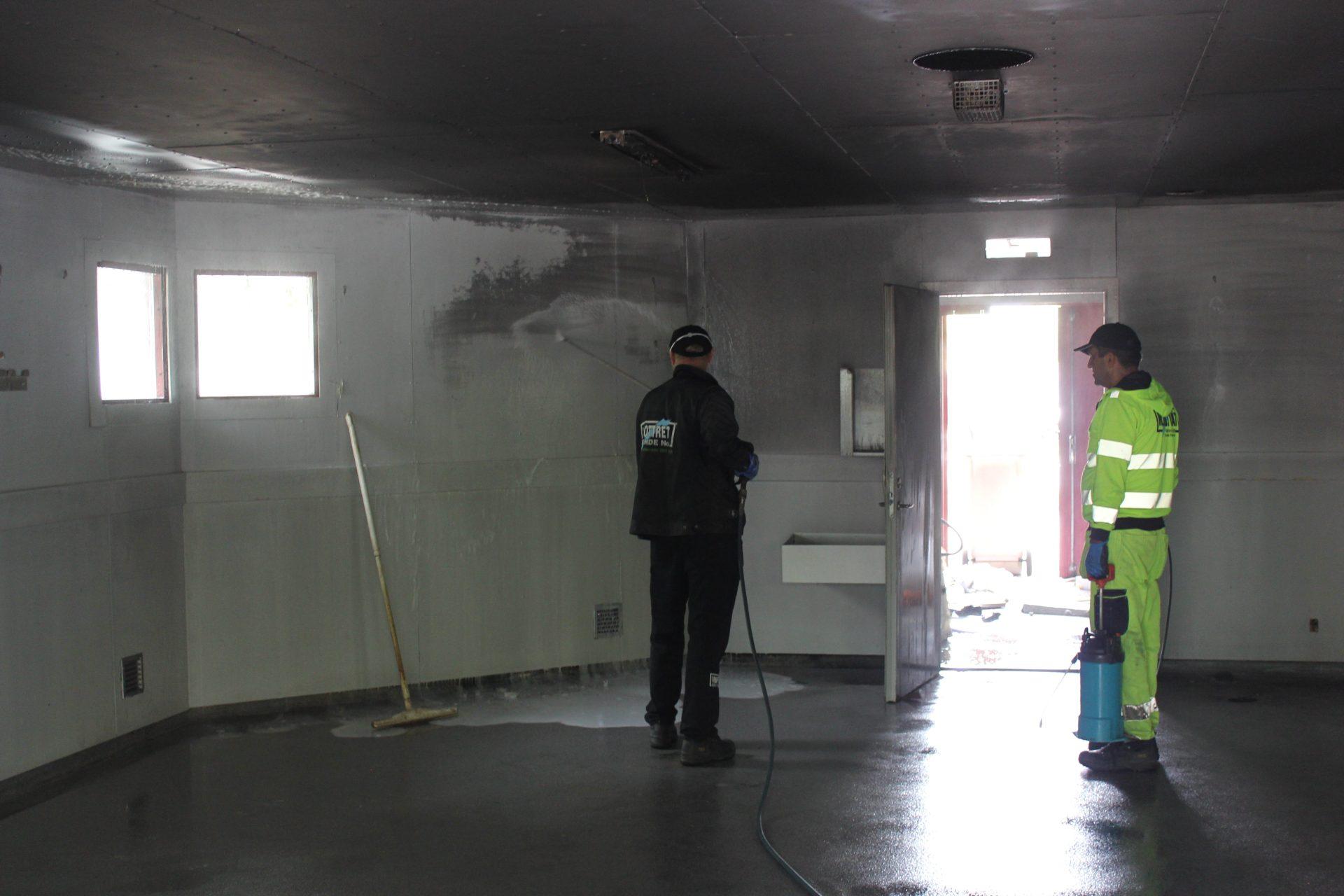 Brandsanering